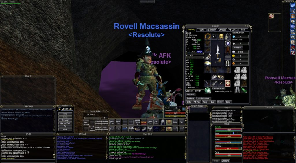 Resolute's first level 65's!