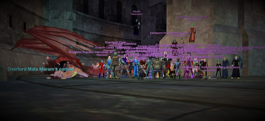 Overlord Mata Muram Defeated