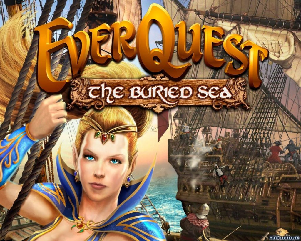 The Buried Sea Launches